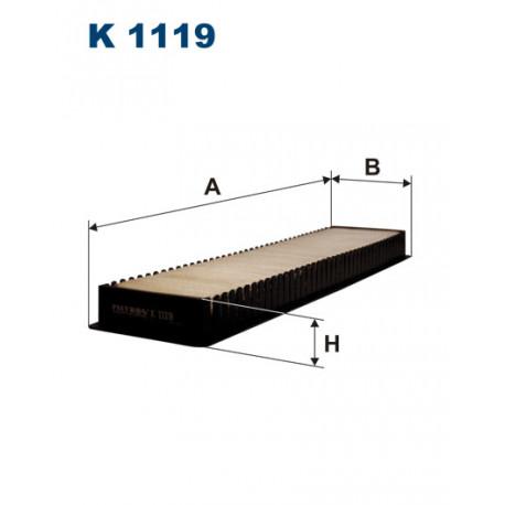 FILTRON FILTR KABINY K 1119