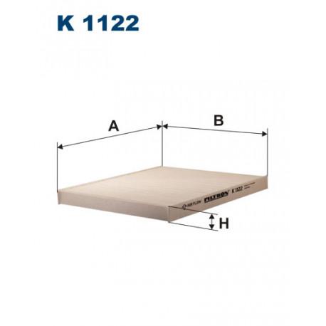 FILTRON FILTR KABINY K1122