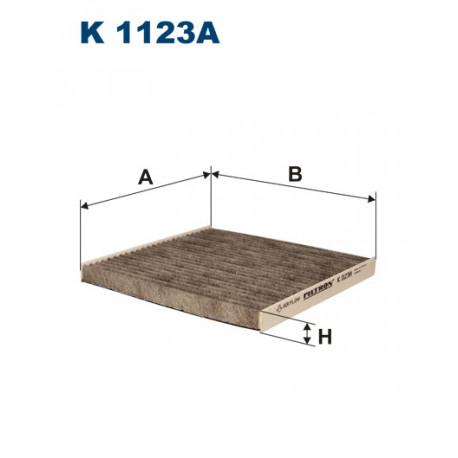 FILTRON FILTR KABINY WEGLOWY K1123A