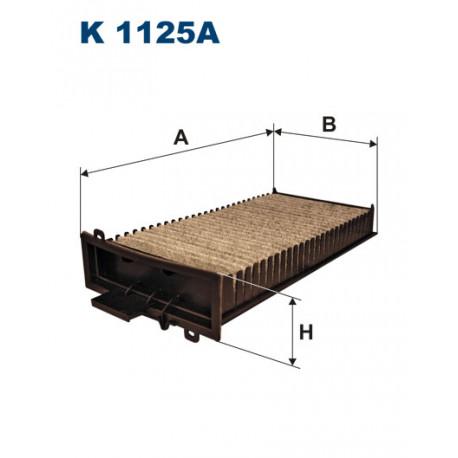 FILTRON FILTR KABINY WEGLOWY K 1125A