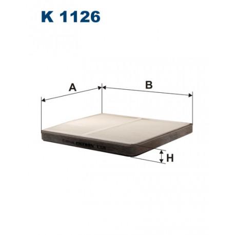 FILTRON FILTR KABINY K 1126