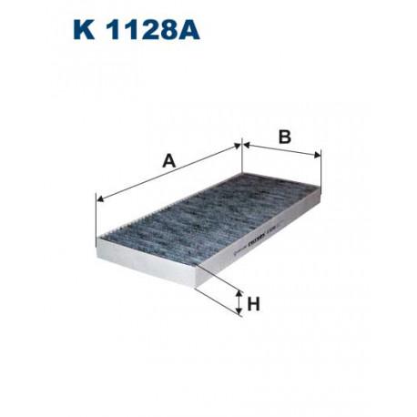 FILTRON FILTR KABINY WEGLOWY K1128A