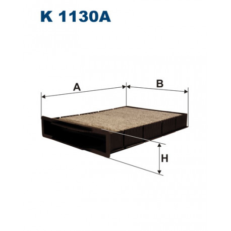 FILTRON FILTR KABINY WEGLOWY K1130A