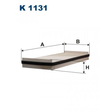 FILTRON FILTR KABINY K 1131