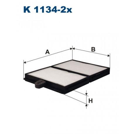 FILTRON FILTR KABINY K 1134-2X