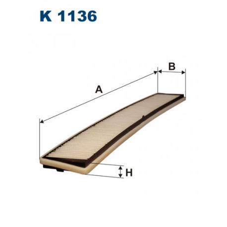 FILTRON FILTR KABINY K 1136