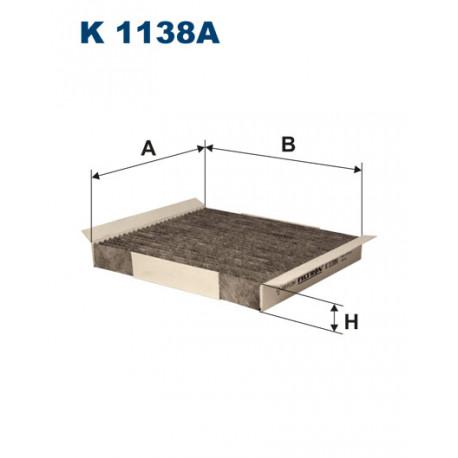 FILTRON FILTR KABINY WEGLOWY K1138A