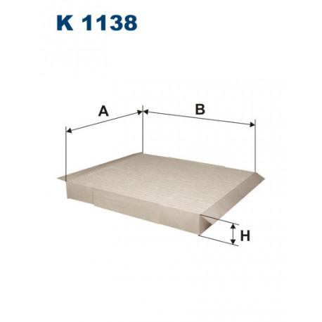 FILTRON FILTR KABINY K 1138