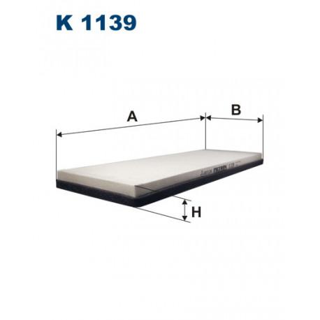 FILTRON FILTR KABINY K1139