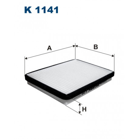 FILTRON FILTR KABINY K1141