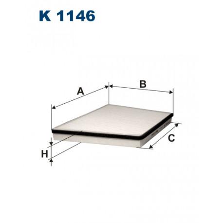 FILTRON FILTR KABINY K 1146