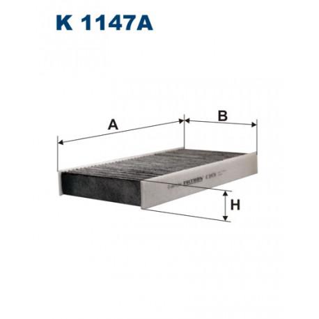 FILTRON FILTR KABINY WEGLOWY K 1147A