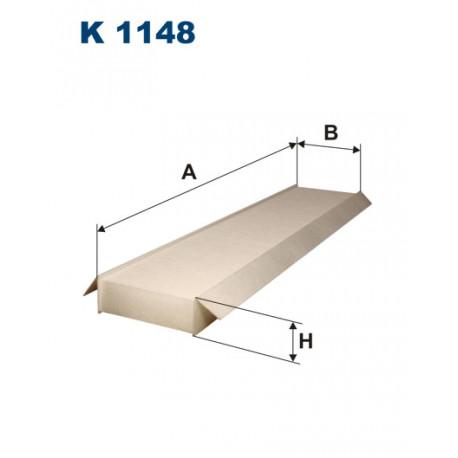 FILTRON FILTR KABINY K1148