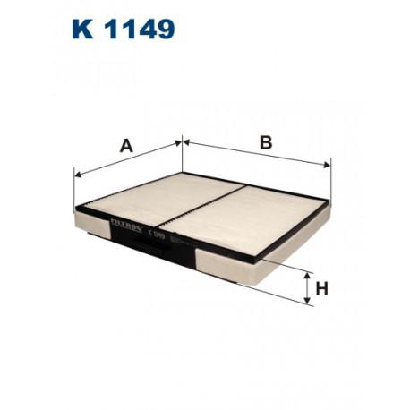 FILTRON FILTR KABINY K 1149
