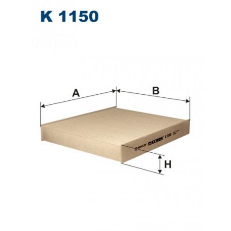 FILTRON FILTR KABINY K1150
