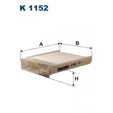 FILTRON FILTR KABINY K 1152