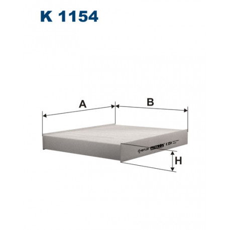 FILTRON FILTR KABINY K1154