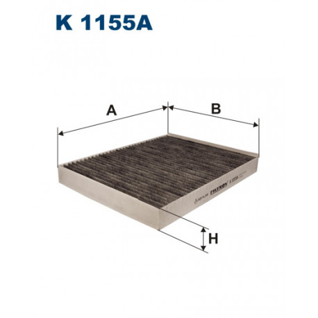 FILTRON FILTR KABINY WEGLOWY K 1155A