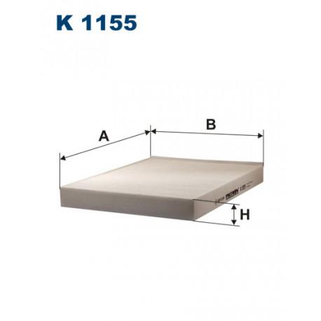 FILTRON FILTR KABINY K1155
