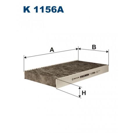 FILTRON FILTR KABINY WEGLOWY K 1156A
