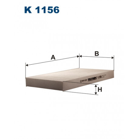 FILTRON FILTR KABINY K 1156