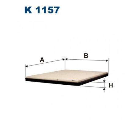FILTRON FILTR KABINY K1157