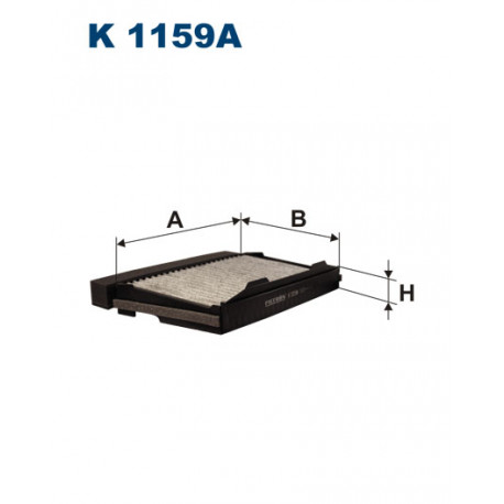 FILTRON FILTR KABINY WEGLOWY K1159A