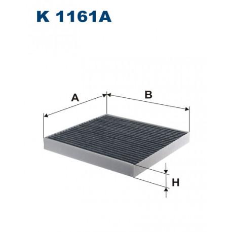 FILTRON FILTR KABINY WEGLOWY K 1161A