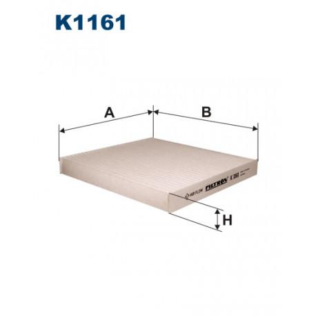 FILTRON FILTR KABINY K1161