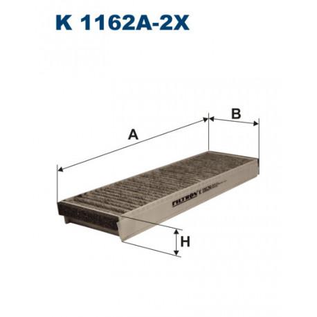 FILTRON FILTR KABINY WEGLOWY K 1162A-2X