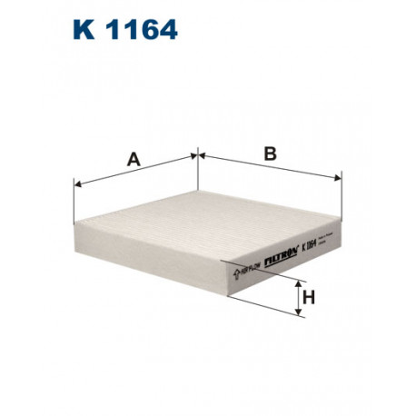 FILTRON FILTR KABINY K1164
