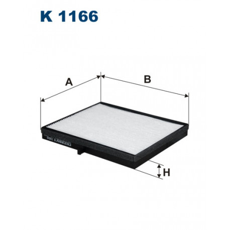 FILTRON FILTR KABINY K 1166