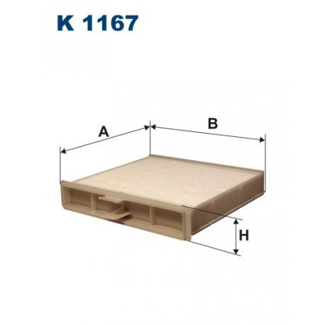 FILTRON FILTR KABINY K 1167