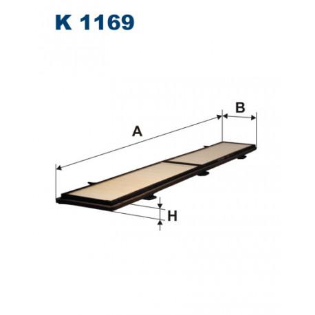 FILTRON FILTR KABINY K 1169