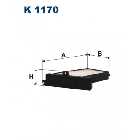 FILTRON FILTR KABINY K 1170