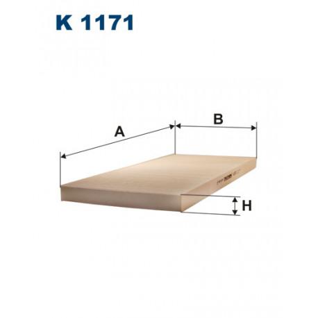FILTRON FILTR KABINY K1171