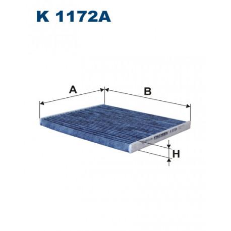 FILTRON FILTR KABINY WEGLOWY K 1172A