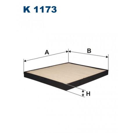 FILTRON FILTR KABINY K 1173