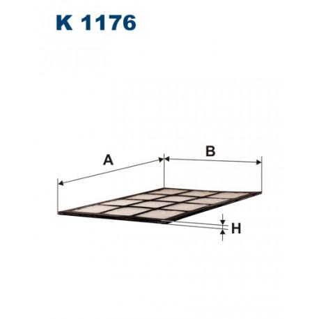 FILTRON FILTR KABINY K 1176