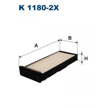 FILTRON FILTR KABINY K 1180-2X