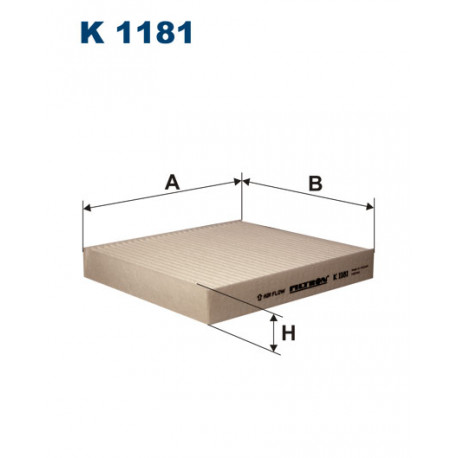 FILTRON FILTR KABINY K 1181