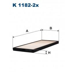 FILTRON FILTR KABINY K1182-2X