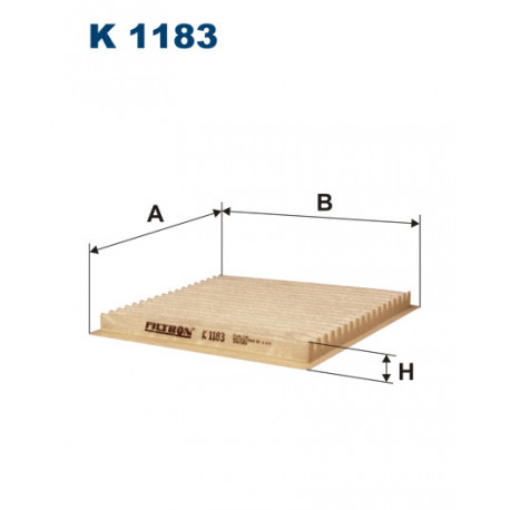 FILTRON FILTR KABINY K 1183