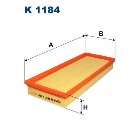 FILTRON FILTR KABINY K 1184