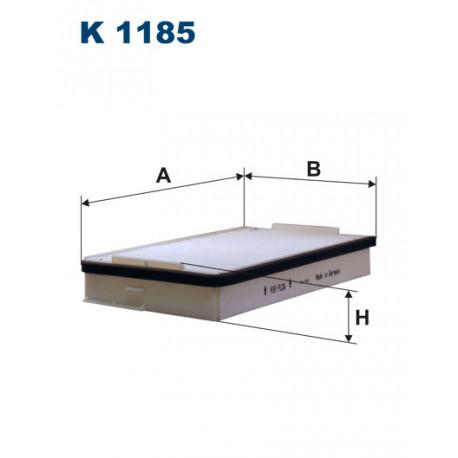 FILTRON FILTR KABINY K1185