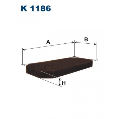 FILTRON FILTR KABINY K 1186