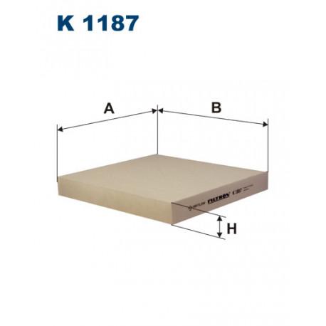 FILTRON FILTR KABINY K 1187