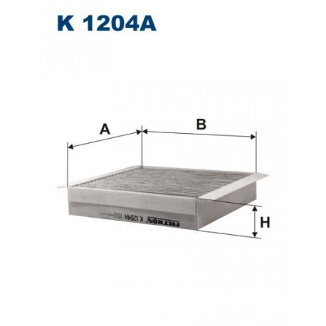 FILTRON FILTR KABINY WEGLOWY K1204A