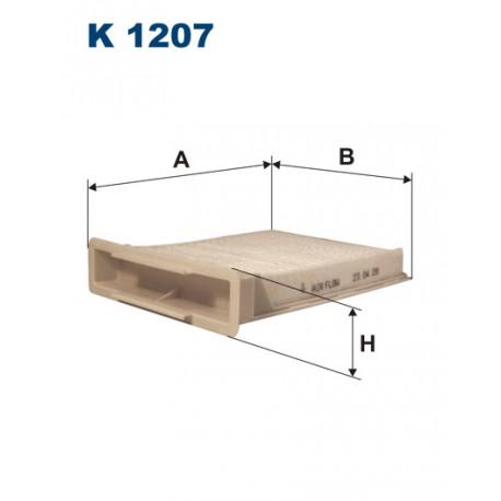 FILTRON FILTR KABINY K1207