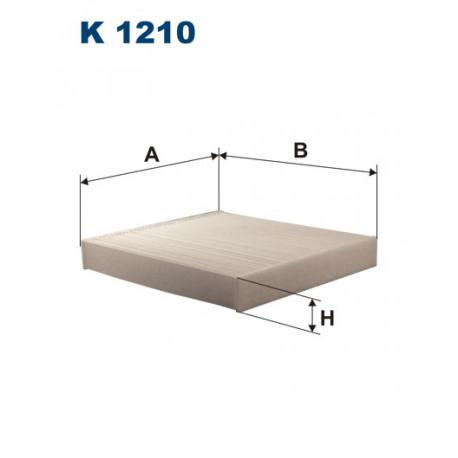 FILTRON FILTR KABINY K1210